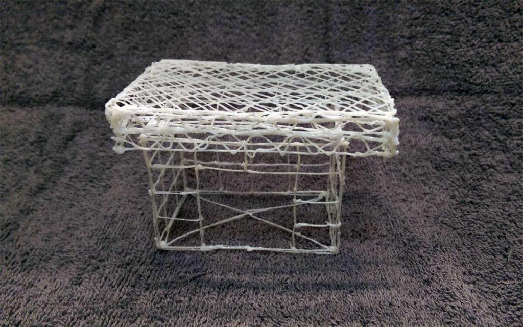 Ein simples Modell, das wir im 3Doodler Test angefertigt haben