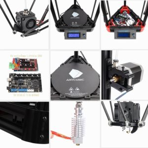 Highlights des Anycubic Kossel 3D-Druckers