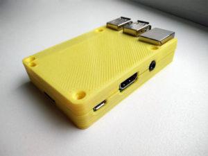Druck eines Raspberry Pi 3 Gehäuses mit dem Prusa i3