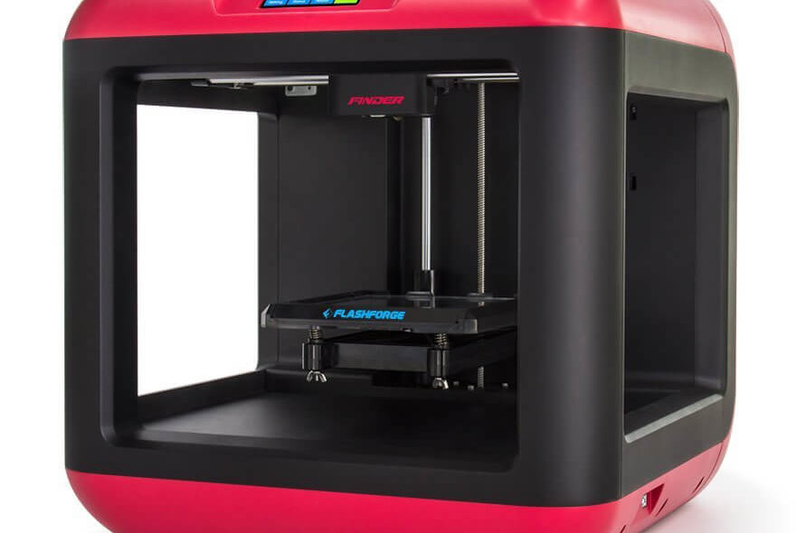 flashforge finder test single extruder 3d drucker mit spitzendesign 3d. Black Bedroom Furniture Sets. Home Design Ideas