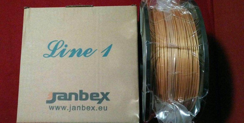 Janbex Filament Gewinnspiel 1x PLA