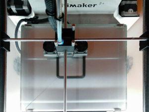 Testdruck mit einem 3D Drucker Fertigmodell (Ultimaker 2+)