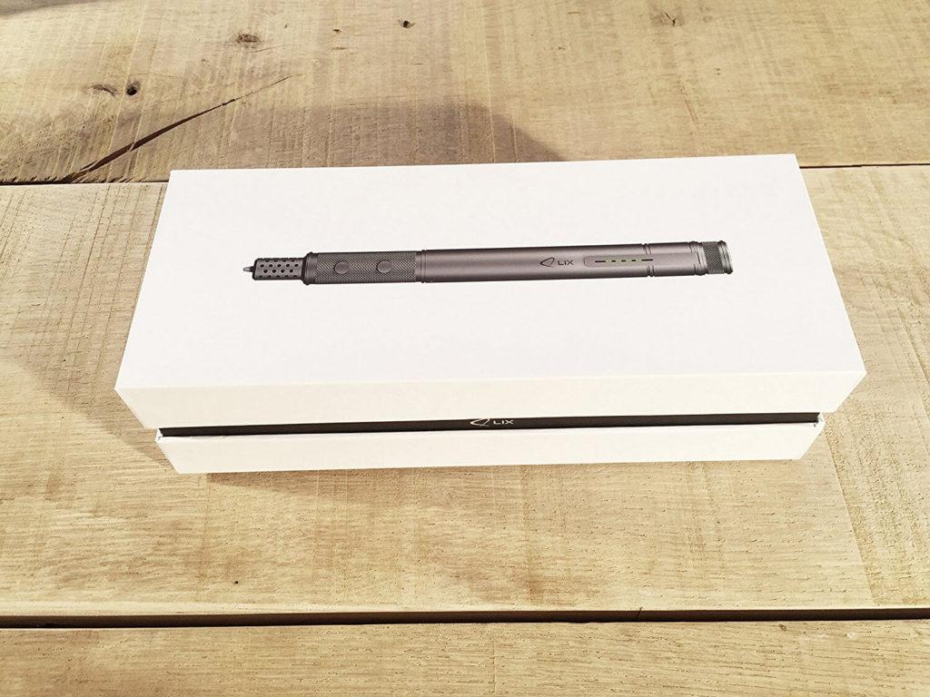 Die Verpackung des LIX 3D Stifts