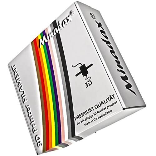 Verpackung von Minadax PETG Filament
