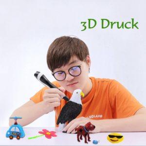 Produktfoto vom ODRVM 3D Stift Set im Einsatz