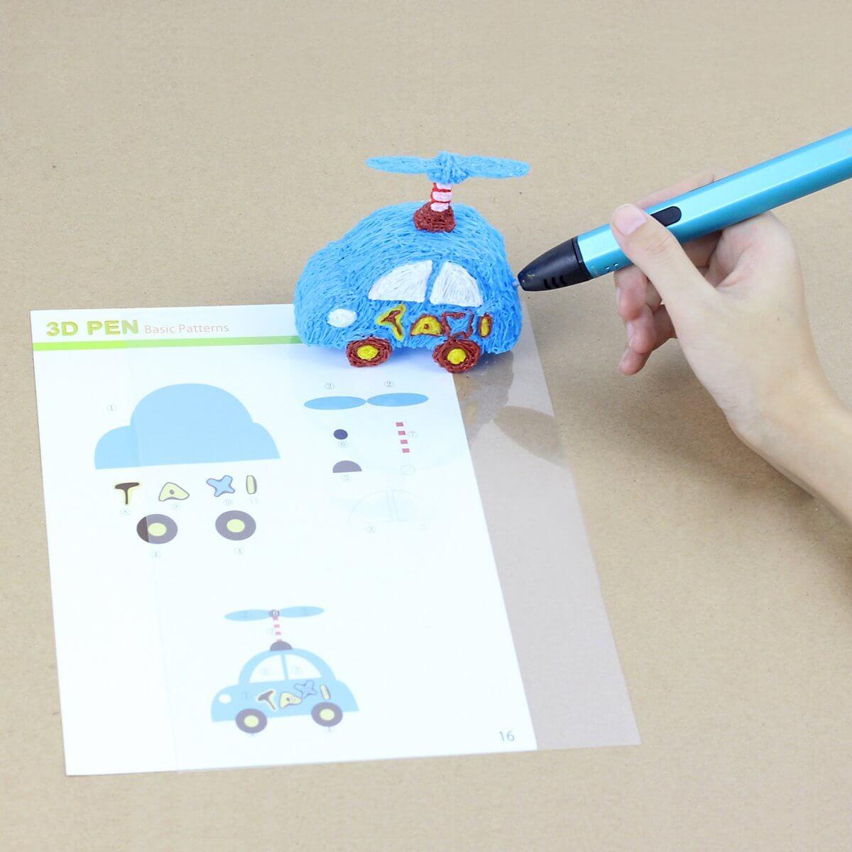 Eine Simple Anleitung Fur Eine 3d Stift Auto Vorlage 3d Filament Info