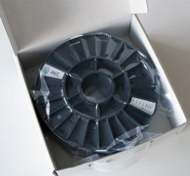 REC PLA Filament Test 3D Drucker
