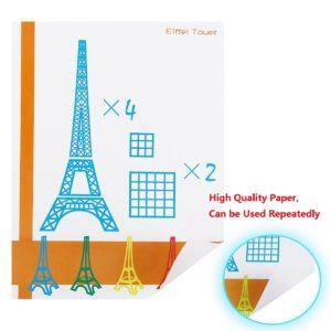 Einfache Anleitungen erwiesen sich im ohCome 3D-Stift Schablonen Test als hilfreich